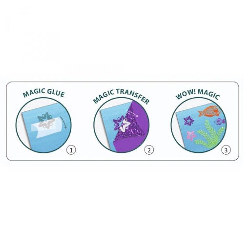 Tubes of glitter gel - Djeco