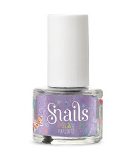 Nail pollish play purple comet - Snails