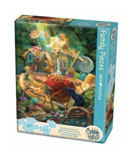 Cobble Hill family puzzle 350 pieces - Candy Cottage