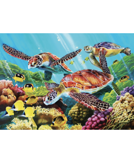 Cobble Hill family puzzle 350 pieces - Molokini Current