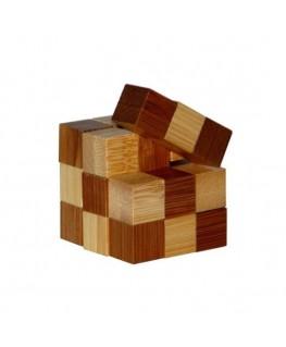 Snake Cubes +12j - 3D bamboo