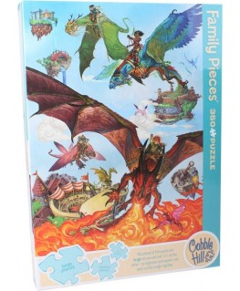 Cobble Hill family puzzle 350 pieces - Dragon flight