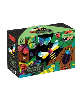 Glow in the dark puzzel insects +5j - Mudpuppy