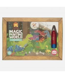 Magisch schilderen dinosaurus +1j - Tiger Tribe