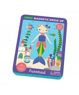 Magneetdoos Dress-up Purrmaid +4j - Mudpuppy