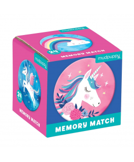 Mini Memory Game / Unicorn Magic - Mudpuppy
