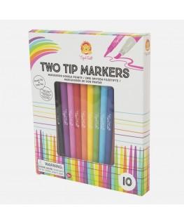 Dubbelzijdige markers +3j - Tiger Tribe