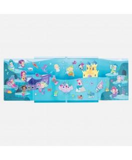 Papier weven en stickertjes van konijntjes 3-6j - Djeco