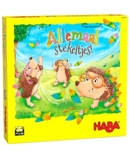 Spel - Allemaal stekeltjes! +3j - Haba