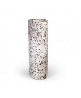 Fifty LONG VASE | terrazzo light - Atelier Pierre