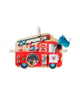 Brandweerwagen activiteitenpaneel - Lilliputiens