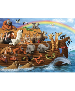 Cobble Hill family puzzle 350 pieces - Voyage of the ark