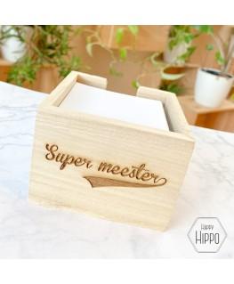 Memohouder Supermeester - Meneertje Haas