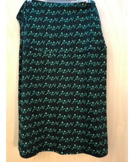 Skirt Lizzie Buttercup Green Recycled Polyester - Froy & Dind