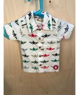 Hemdje Star Wings White Baby - Kik*Kid