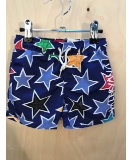 Blackberry Surf Shorts, mixed star - Villervalla