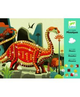 Mozaïek Dinosaurus 4-8j - Djeco