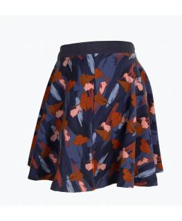 Unisex pyjama rood-donkerblauw gestreept alpaca - Woody