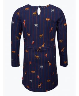 Pyjama rood-blauw gestreept alpaca - Woody
