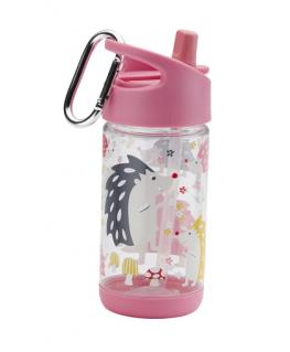Flip & Sip clear Tritan drinkfles Hedgehog - Sugarbooger