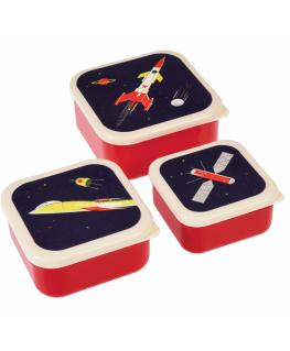 Space age snack box - set van 3 - Rex