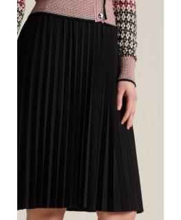 Rok Border Plisse Skirt Uni Plisoley - King Louie