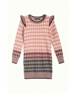Kleedje Agnes Knit Dress Preppy - Petit Louie