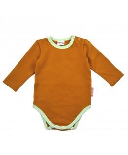 Body longsleeves Buckthorn Brown - ba*ba babywear