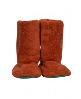 Pantoffels roest - Woody