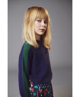 Uni sweater geometric jacquard - Ba*Ba Babywear