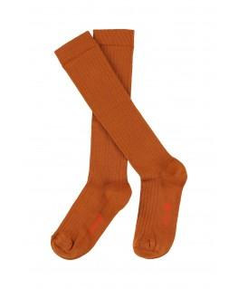 JORDAN knee socks potters clay - Lily Balou
