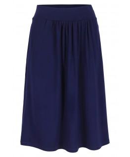 BINA midi skirt patriot blue - Lily Balou