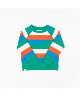 Happy Sweat pepper Green Love Stripes - Albababy