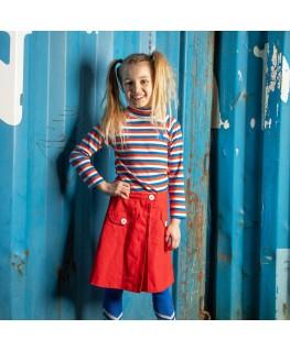 Westwind Highneck blouse Snorkel Magic Stripes - Albababy