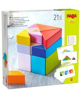 3D-compositiespel Tangram kubus 2-99j - Haba