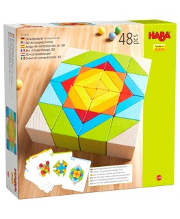 3D-compositiespel Blokkenmozaïek - Haba