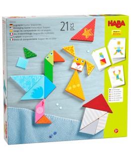 Legspel kleurrijke Tangrammix +3j - Haba