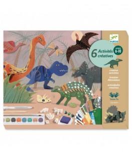 The world of dinosaurs Dino box 6-10j - Djeco