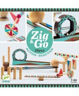 Zig & Go Action Reaction 5640 28 pcs 7-99j - Djeco