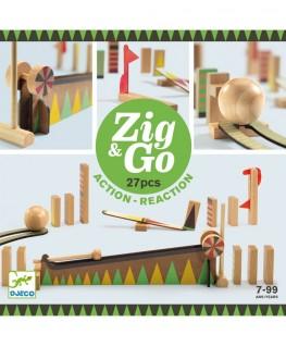 Zig & Go Action Reaction 5641 27 pcs 7-99j - Djeco