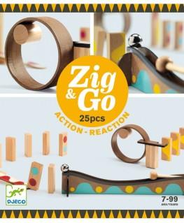 Zig & Go Action Reaction 5642 25 pcs 7-99j - Djeco
