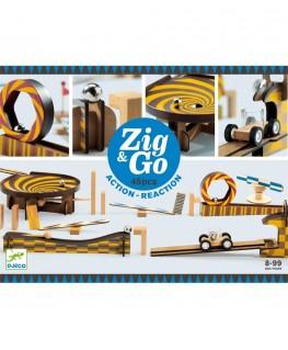 Zig & Go Action Reaction 5643  45 pcs 8-99j - Djeco