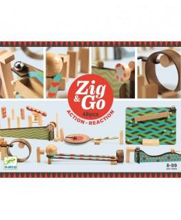 Zig & Go Action Reaction 5644 48 pcs 8-99j - Djeco