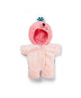 Anaïs Poppen-onesie flamingo +2j - Lilliputiens