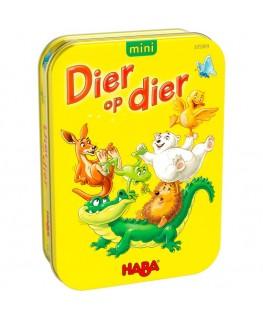 Spel - Dier op dier mini  5-99j - Haba
