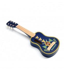 Guitar 6 metallic strings Animambo +4j - Djeco