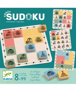 Crazy sudoku 8-99j - Djeco