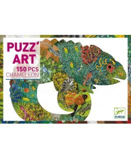 Chameleon puzzel 150pcs - Djeco