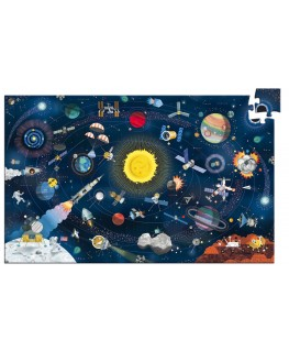 The space + booklet 200pcs - Djeco