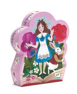 Alice in wonderland puzzel 50pcs - Djeco